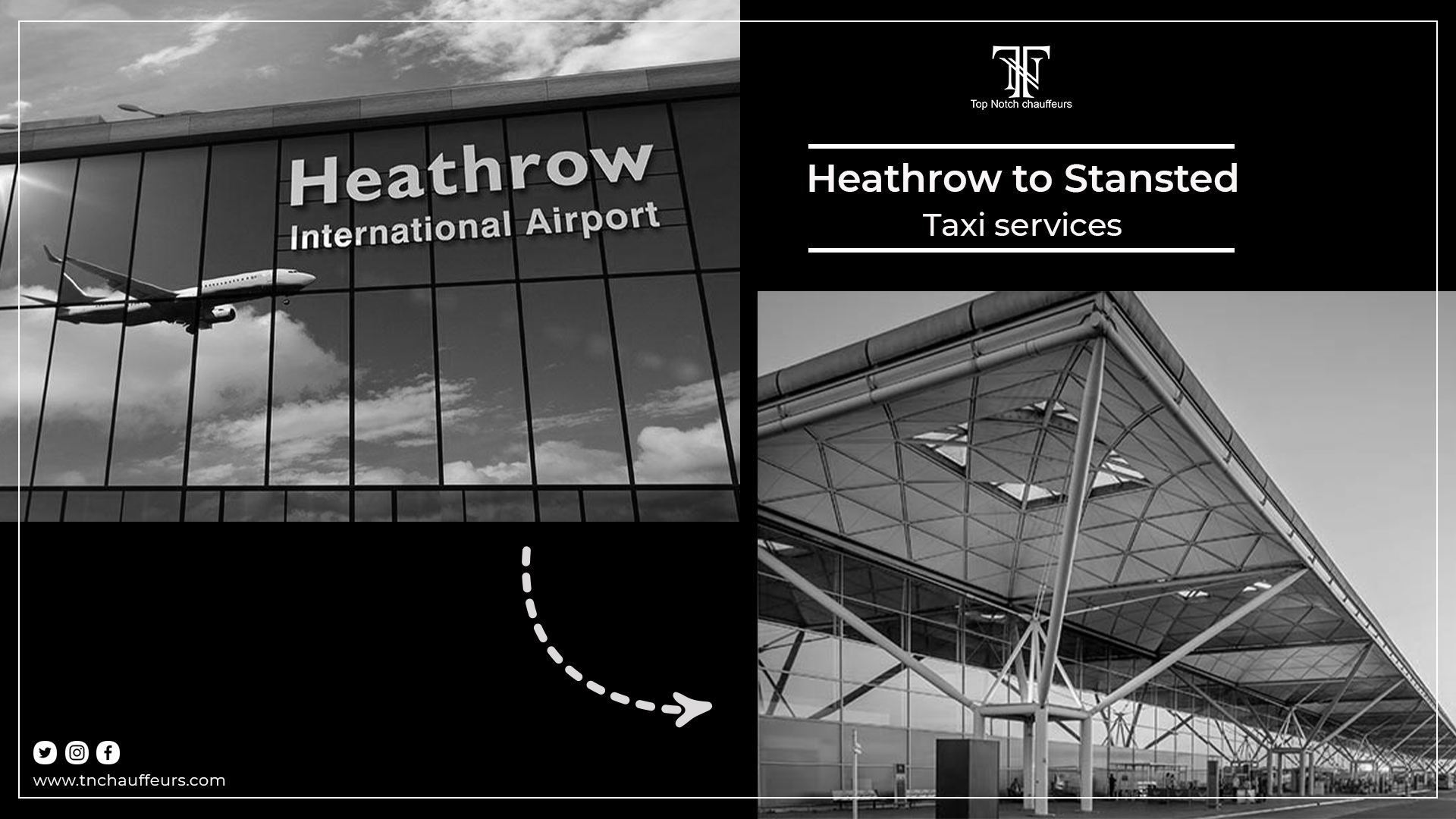 Heathrow to Stansted Taxi